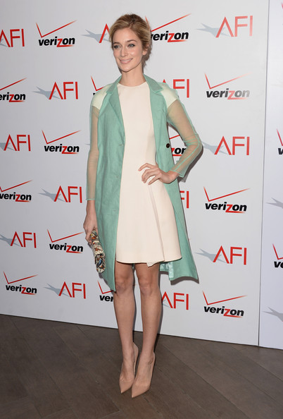 Caitlin Fitzgerald Evening Coat