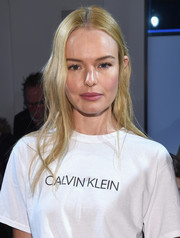 Kate Bosworth looked lovely with her soft waves at the Calvin Klein fashion show.