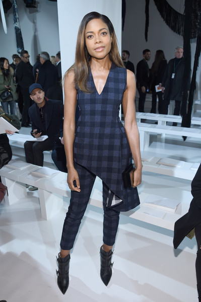 Naomie Harris at Calvin Klein Collection