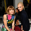 Anna Wintour and Karlie Kloss at Calvin Klein Collection