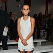 Millie Bobby Brown at Calvin Klein Collection