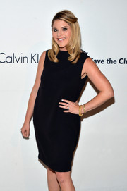 Jenna Bush Hager opted for a simple yet classic little black dress when she attended the Calvin Klein Save the Children benefit.