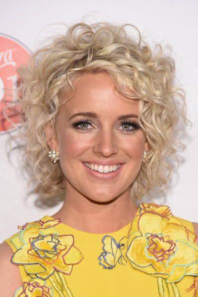 Cam Short Curls [hair,face,hairstyle,blond,chin,eyebrow,yellow,lip,long hair,smile,sauza 901 tequila host,justin timberlake,exclusive coverage cam,nashville,tennessee,cma,citizen,party]