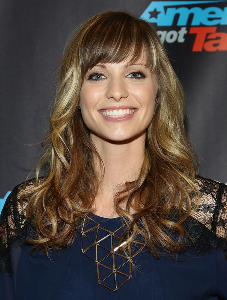 Cami Bradley Long Wavy Cut with Bangs