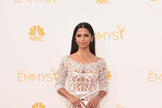 Camila Alves Off-the-Shoulder Dress