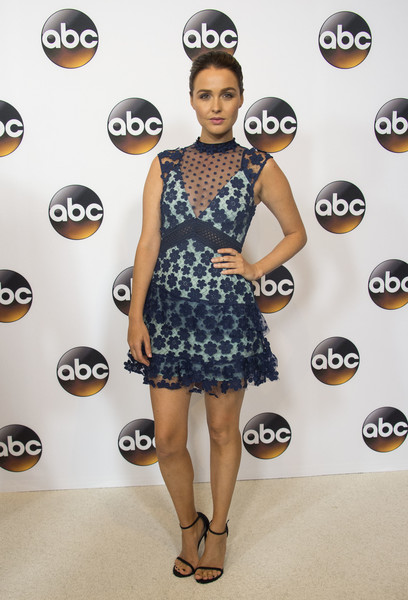Camilla Luddington Lace Dress