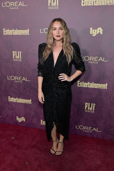 Camilla Luddington Little Black Dress