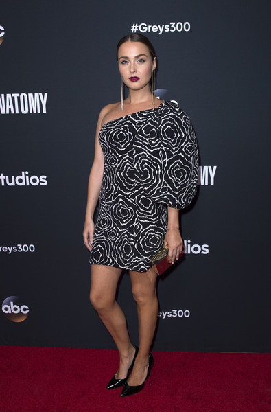 Camilla Luddington One Shoulder Dress