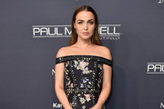 Camilla Luddington Off-the-Shoulder Dress