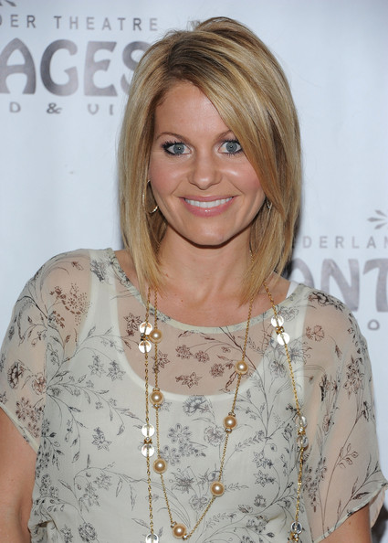 Candace Cameron new haircut