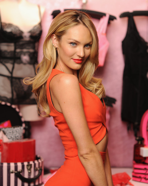 More Pics Of Candice Swanepoel Long Curls 9 Of 32