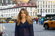Cara Delevingne Button Down Shirt