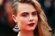 Cara Delevingne Dangle Decorative Earrings