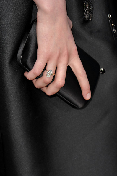 Carey Mulligan Diamond Ring