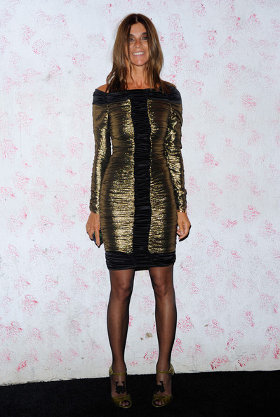 Carine Roitfeld Off-the-Shoulder Dress []