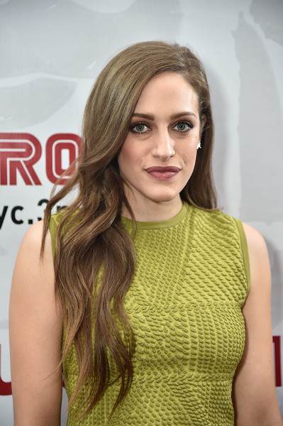 Carly Chaikin Long Wavy Cut