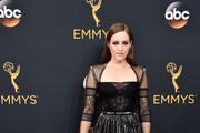 Carly Chaikin Sheer Dress