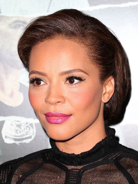 Carmen Ejogo Pink Lipstick [alex cross,hair,face,eyebrow,lip,hairstyle,beauty,cheek,chin,forehead,skin,arrivals,carmen ejogo,california,hollywood,arclight cinemas cinerama dome,summit entertainment,premiere of summit entertainment,premiere]