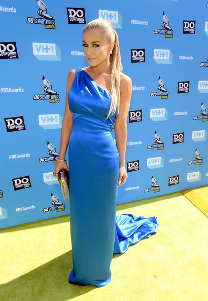 Carmen Electra One Shoulder Dress