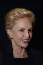 Carolina Herrera went for a short straight cut during her Fall 2014 show.