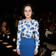 Michelle Dockery at Carolina Herrera