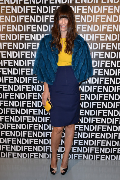 Caroline De Maigret Pencil Skirt