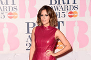 Caroline Flack Leather Dress