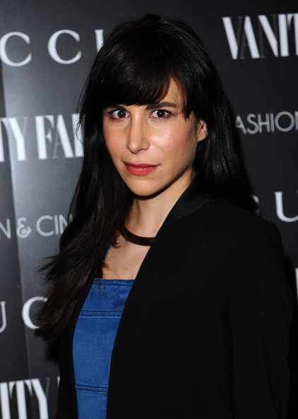 Caroline Sieber Long Straight Cut with Bangs