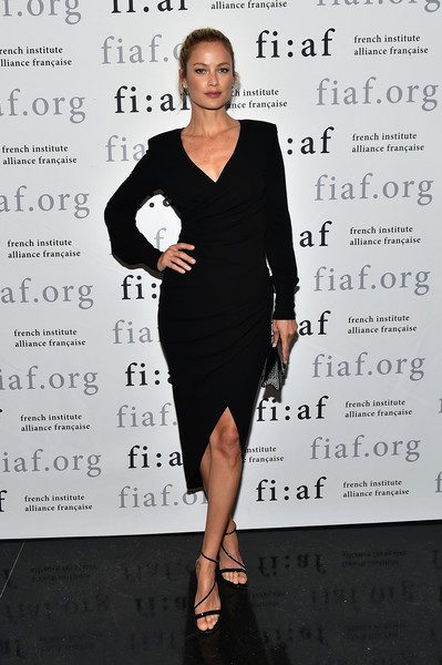 Carolyn Murphy Form-Fitting Dress