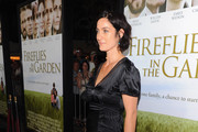 Carrie-Anne Moss Strappy Sandals