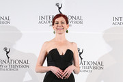 Carrie Preston Strapless Dress