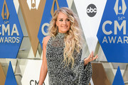Carrie Underwood Beaded Dress