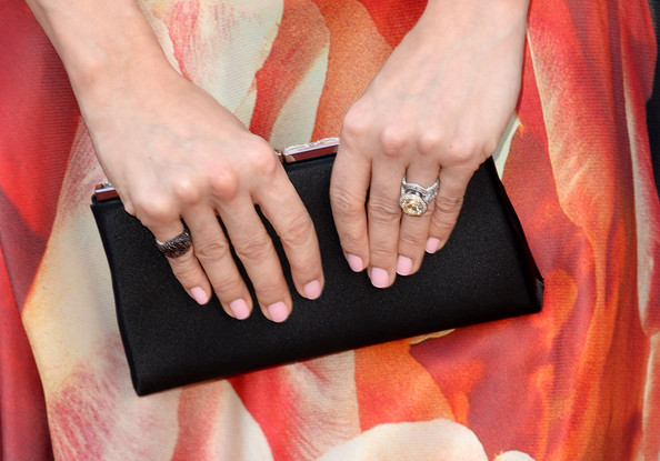 Carrie Underwood Satin Clutch