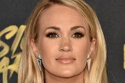 Carrie Underwood Long Side Part