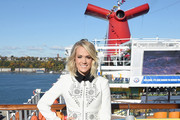 Carrie Underwood Wool Coat
