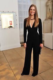 Julie Henderson knows how to make a jumpsuit high-fashion!