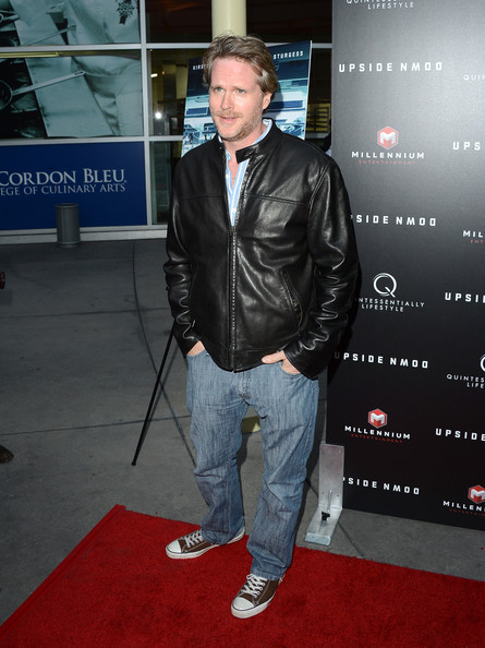 Cary Elwes Leather Jacket