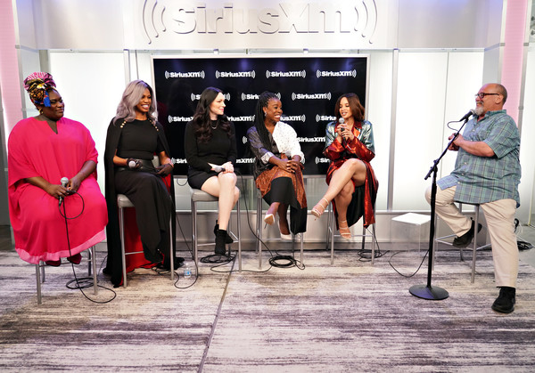 More Pics of Laura Prepon Ankle Boots (1 of 25) - Laura Prepon Lookbook - StyleBistro [orange is the new black,event,performance,music,talent show,fun,performance art,musician,musical ensemble,stage,performing arts,cast,actresses,danielle brooks,uzo aduba,laura prepon,laverne cox,new york city,siriusxm studios,visit]