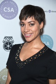 Cush Jumbo looked cute wearing her signature pixie at the Artios Awards.
