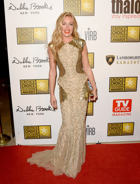 Cat Deeley Evening Dress