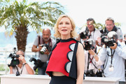 Cate Blanchett Crop Top