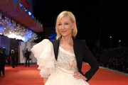 Cate Blanchett Embroidered Dress