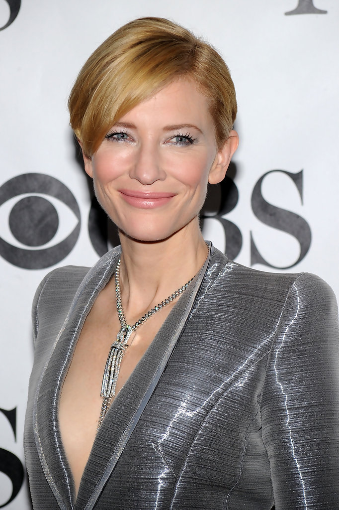 Cate Blanchett Short Side Part Cate Blanchett Short Hairstyles