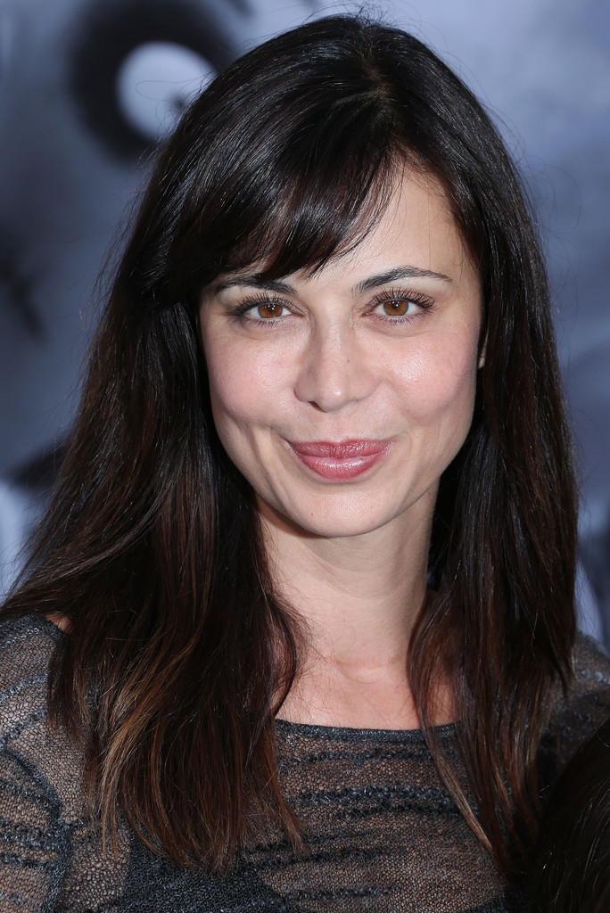 Catherine Bell Long Straight Cut with Bangs - Catherine