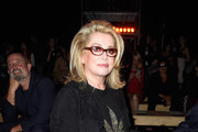 Catherine Deneuve Suede Jacket