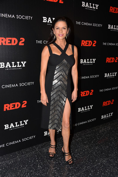 Catherine Zeta-Jones Cocktail Dress