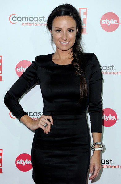 Catt Sadler Long Braided Hairstyle