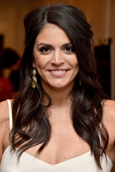 Cecily Strong Half Up Half Down