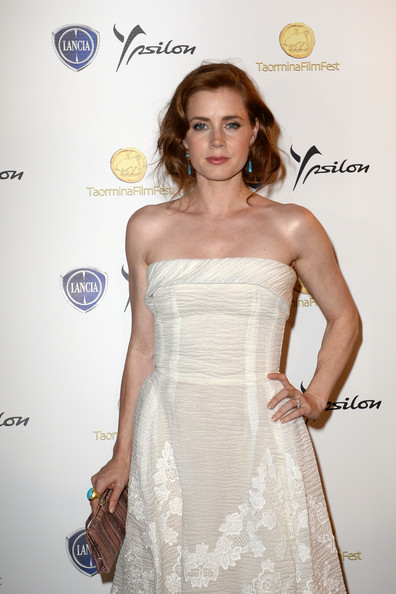 More Pics of Amy Adams Strapless Dress (1 of 11) - Amy Adams Lookbook - StyleBistro