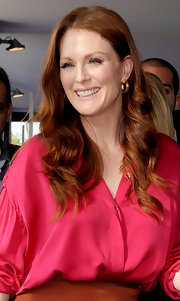 Julianne Moore showed off her radiant curls while hitting the Rome Film Festival.